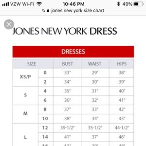 Jones New York Tops - NWT JNY Dot Blouse Size M